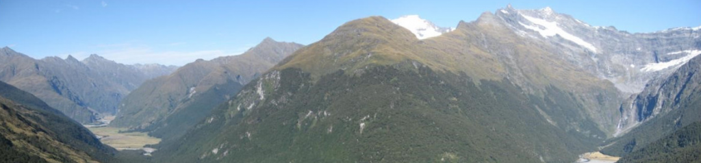 Mount Aspiring National Park New Zealand