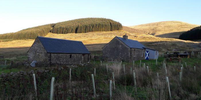 southern upland way bothy
