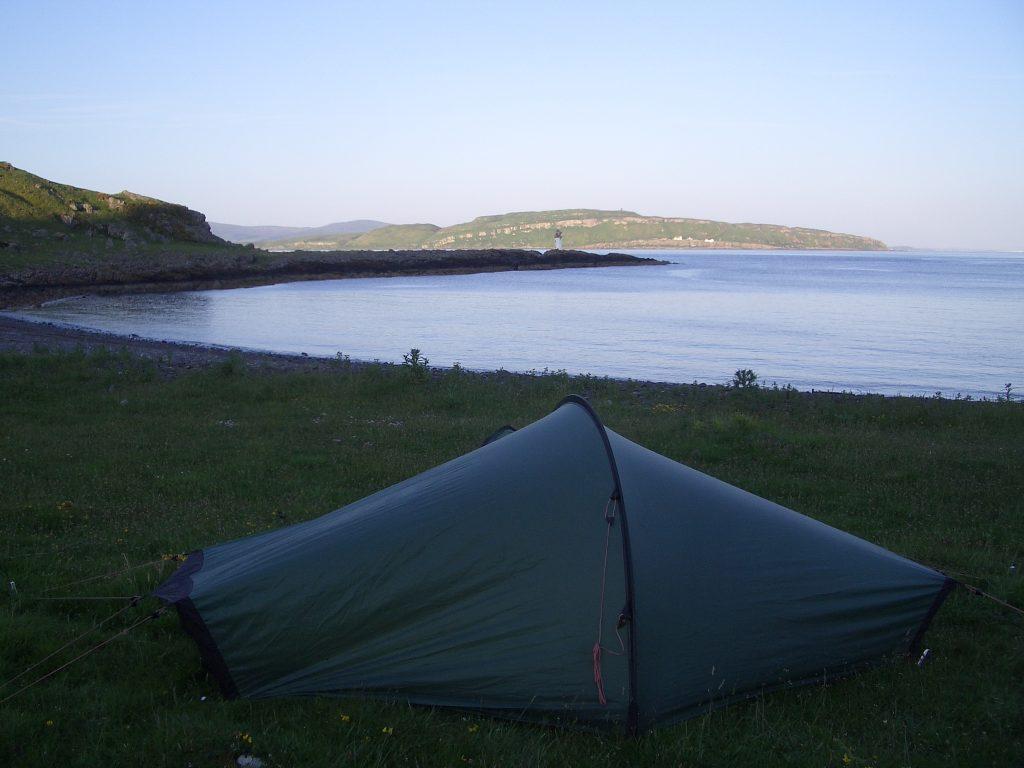 wild camping isle of bute scotland
