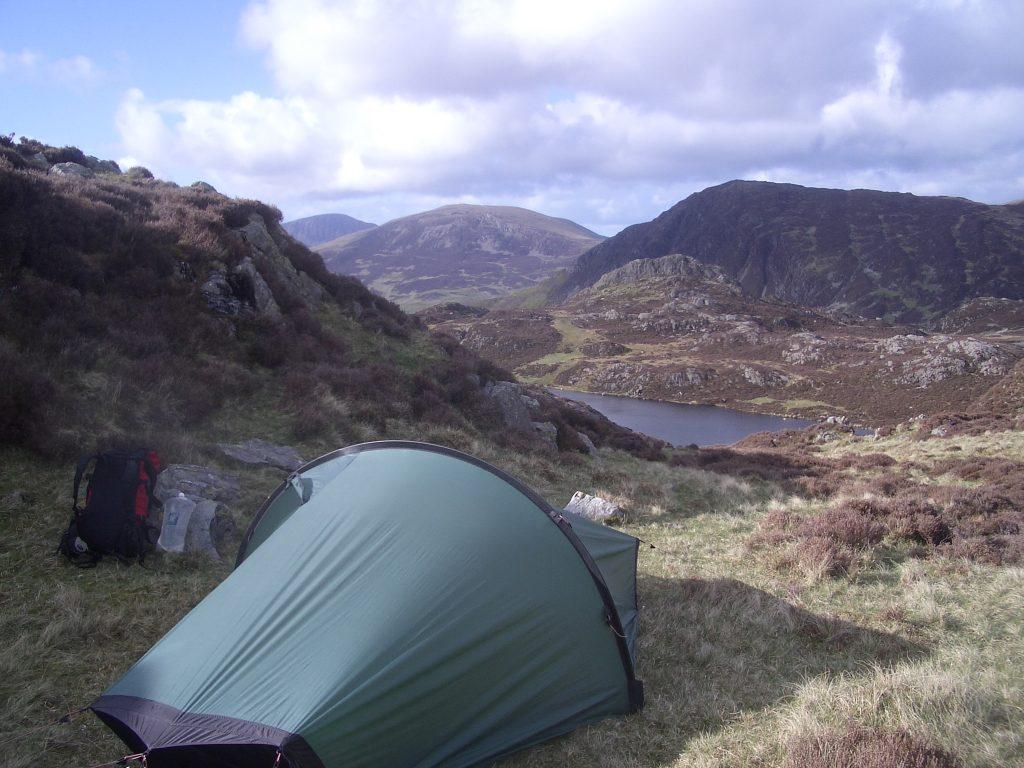 wild camping coast to coast england